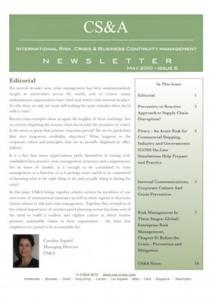 CS&A-Newsletter- Spring2010
