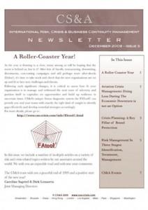 CS&A-Newsletter- winter2009